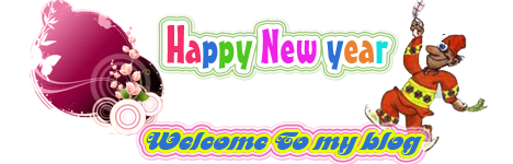 welcome to my blog _ Happy new year